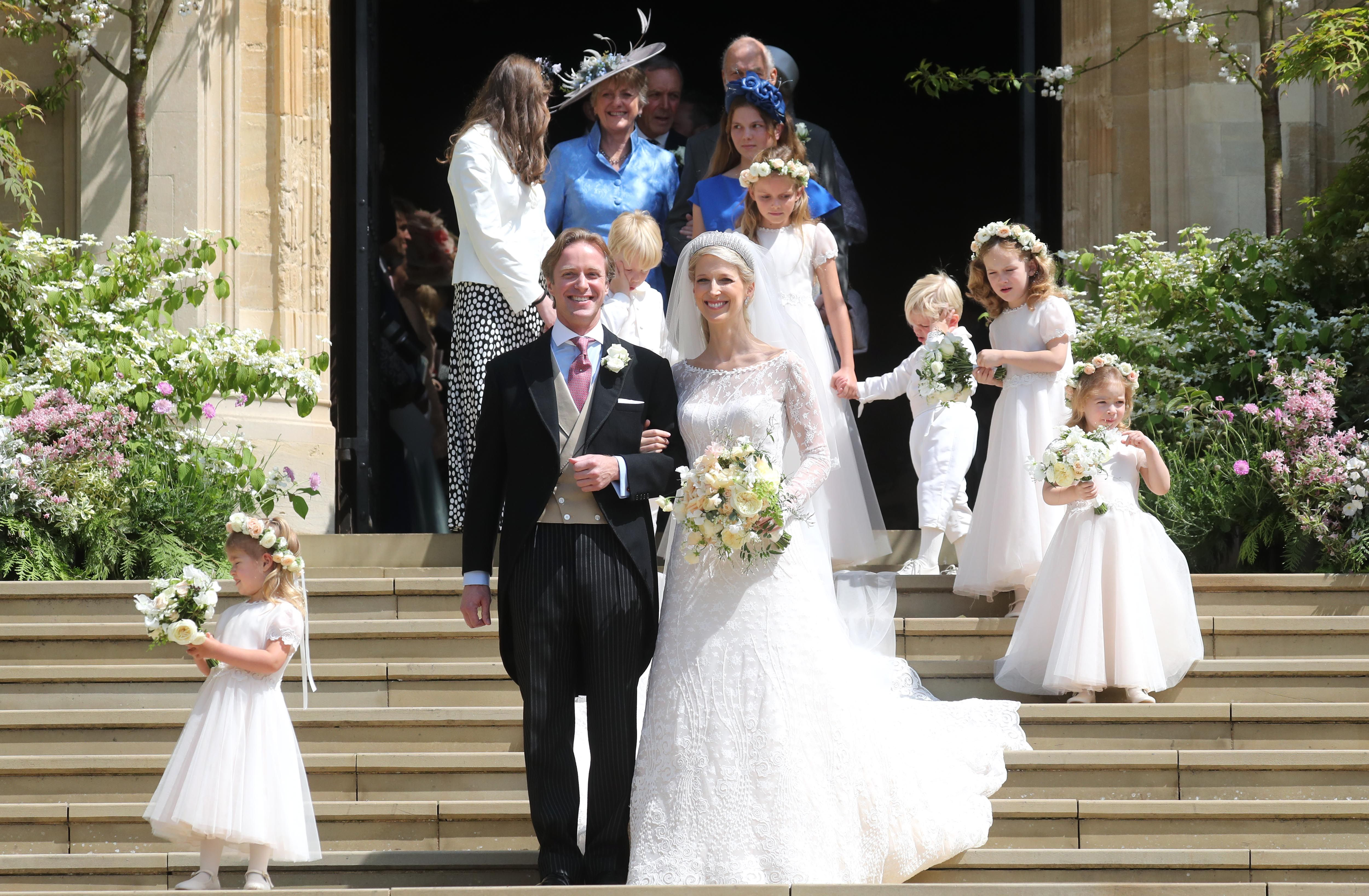 Every Photo From Lady Gabriella Windsor And Tom Kingston S Royal