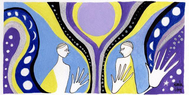 Modern art, Art, Visual arts, Pattern, Illustration, Painting,