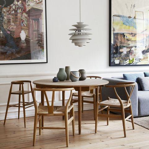 Inside the home of Rasmus Warnke Norregard, co-owner of Scandinavian design store Skandium