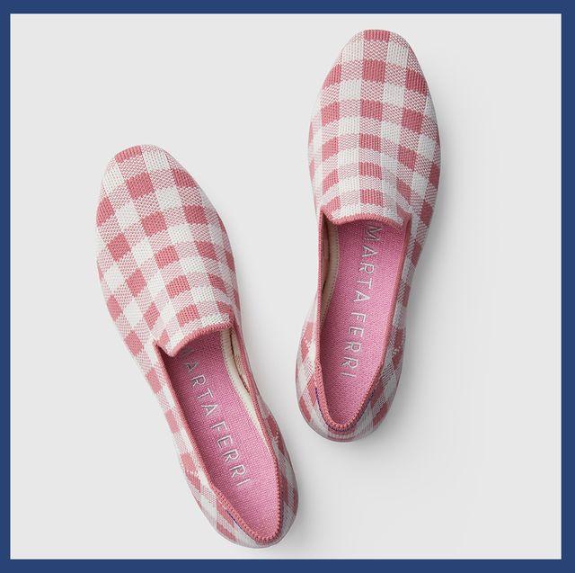 Footwear, Pink, Shoe, Slipper, Espadrille, Plimsoll shoe, Sneakers,