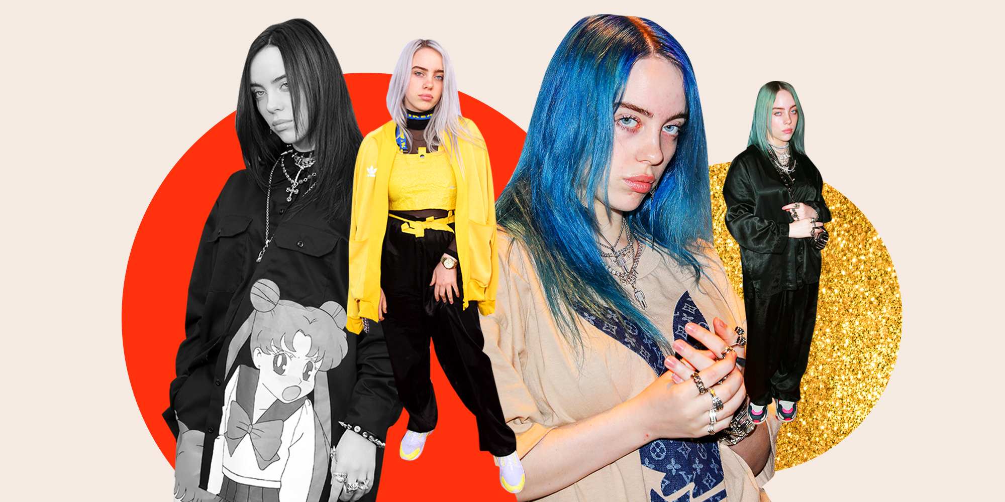 Because You're Curious to Know, Here Are All 14 Hair Colors Billie Eilish Has Had