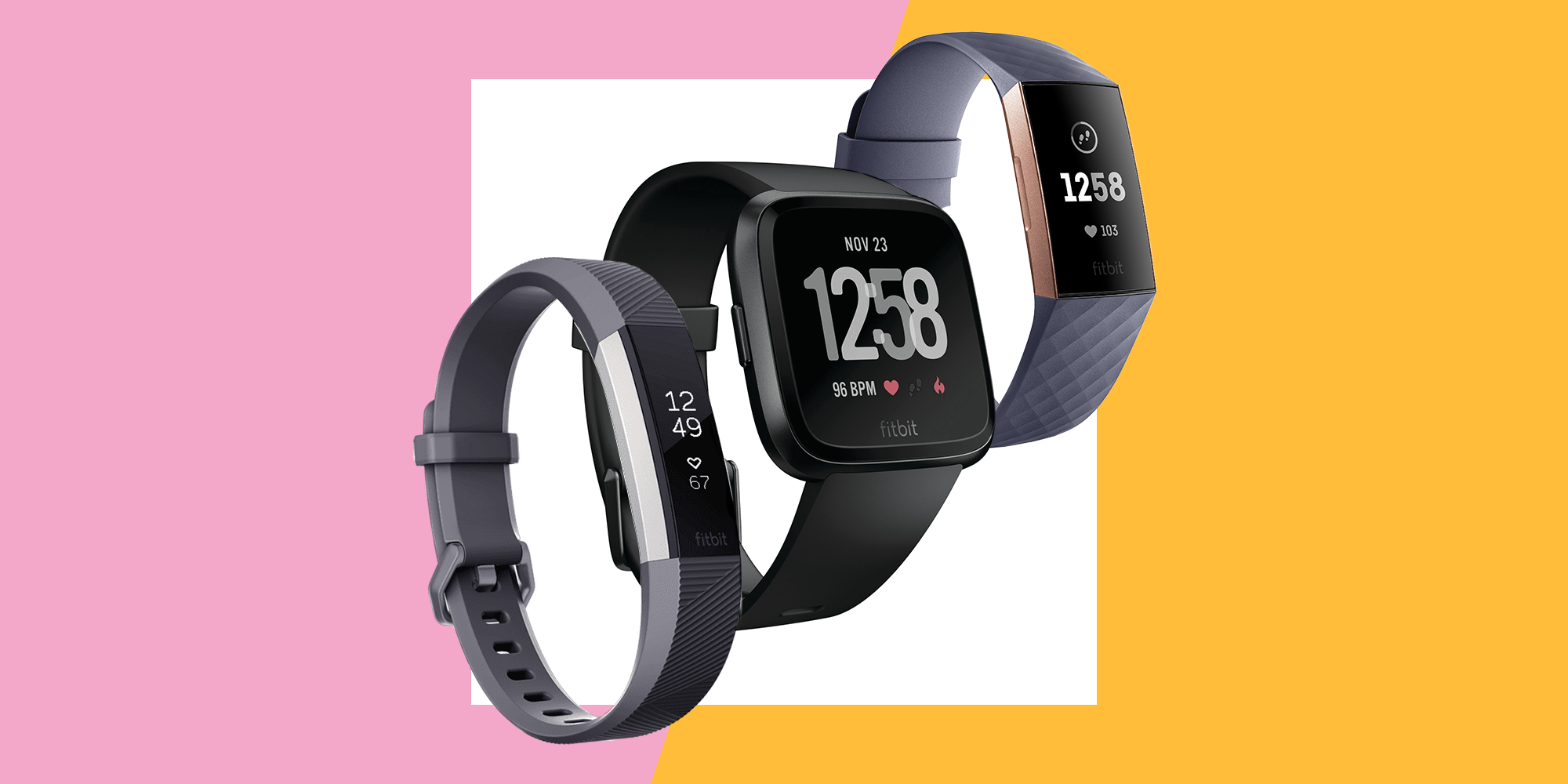 Fitbit's Alta HR, Charge 3, And Versa Trackers Are Up To $30 Off Right Now