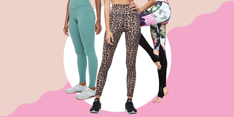 e8667c489795ba 12 High-Waisted Leggings That Stay Put For Your Entire Workout