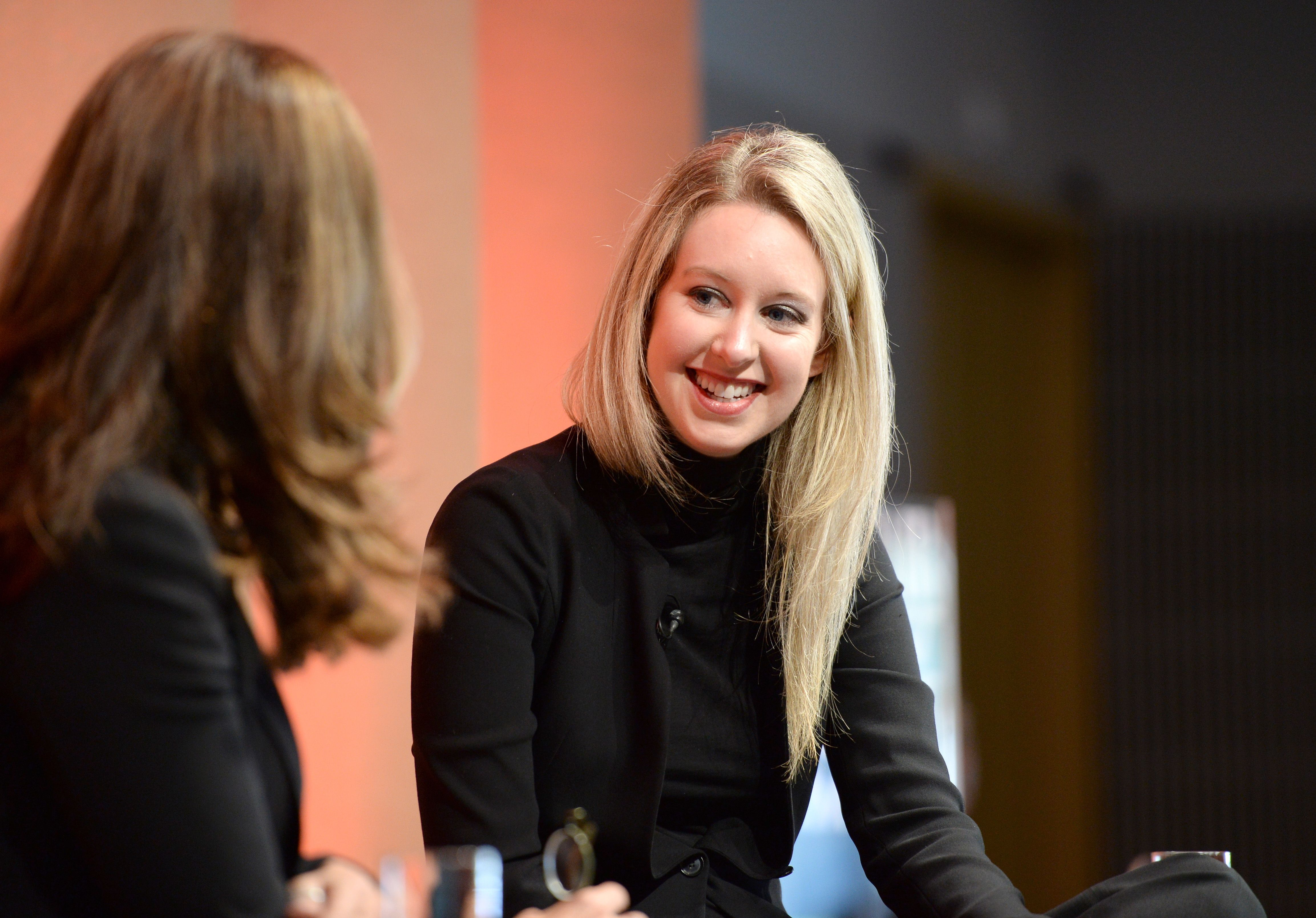 Why the Black Turtleneck Was So Important to Elizabeth Holmes's Image