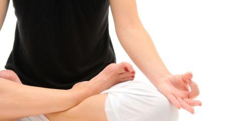 Martha Stewart does yoga