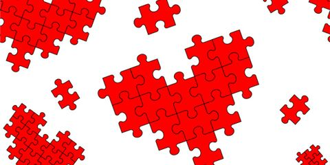 Red, Pattern, Line, Font, Carmine, Colorfulness, Coquelicot, Circle, Design, Square,