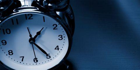 alcohol can sabotage sleep; alarm clock