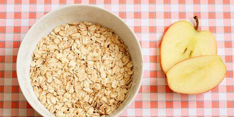 oatmeal face-off