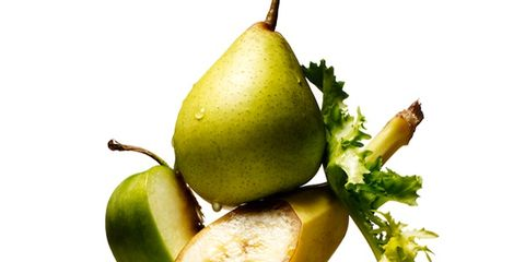 Yellow, pear, Pear, Food, Produce, Fruit, Natural foods, Ingredient, Woody plant, Fruit tree,