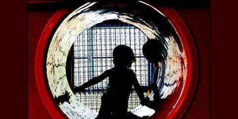 Red, Fixture, Tints and shades, Silhouette, Circle,