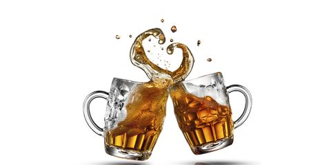 beer and heart