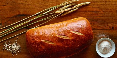 Bread, Serveware, Ingredient, Food, Baked goods, Kitchen utensil, Loaf, Cup, Staple food, Snack,
