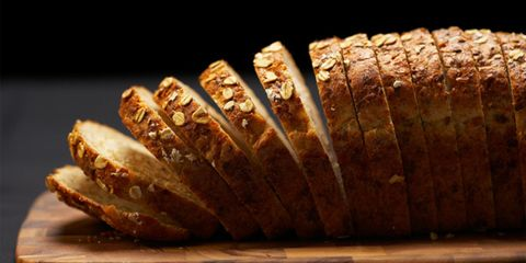 whole grain foods aren't necessarily nutritious; loaf of bread