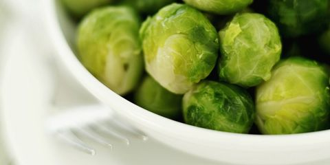 Brussels sprouts are a good source of soluble fiber