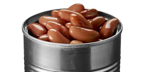 Brown, Ingredient, Metal, Peach, Tin, Cylinder, Silver, Aluminium, Steel, Food storage containers,