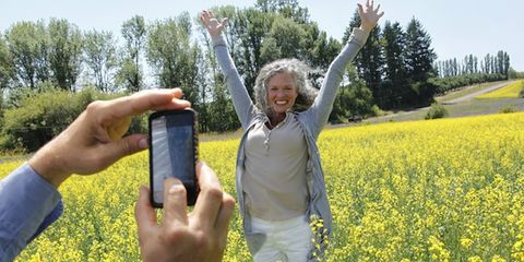 Plant, Hand, Happy, People in nature, Agriculture, Field, Wildflower, Wrist, Meadow, Spring,