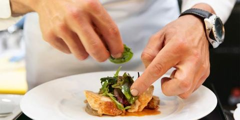 celebrity chefs offer unhealthy recipes; chef cooking