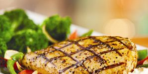 Chili's Lighter Choices Sweet and Spicy Chicken