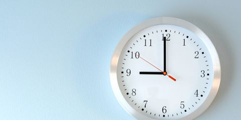 Line, Colorfulness, Font, Clock, Circle, Wall clock, Peach, Parallel, Home accessories, Number,