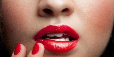 Mouth, Finger, Lip, Cheek, Skin, Chin, Eyelash, Eyebrow, Red, Nail,
