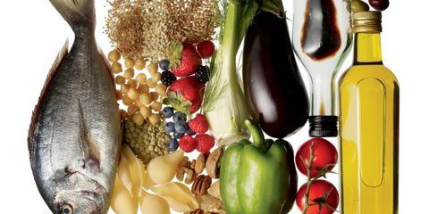 Vegan nutrition, Food, Food group, Whole food, Natural foods, Produce, Fruit, Bottle, Fish, Glass bottle,