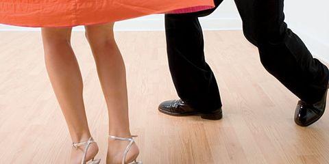Dancing can improve mental health; woman dancing