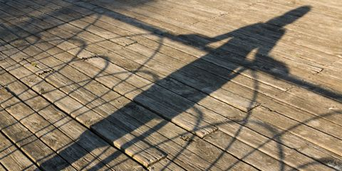knowing yourself leads to better decisions; woman's shadow
