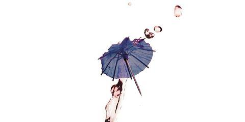 Umbrella, Graphics, Air sports, Illustration, Parachute, Drawing,
