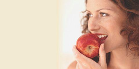 Lip, Cheek, Skin, Shoulder, Fruit, Joint, Natural foods, Organ, Produce, Peach,