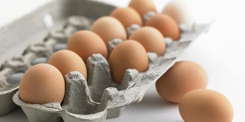 Ingredient, Egg, Egg, Tan, Oval, Peach, Still life photography, Natural material,