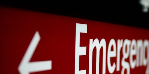 hospital readmission rates surprisingly high; emergency room sign