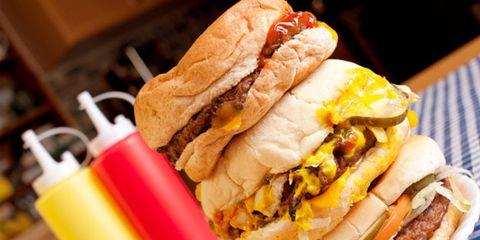 Food, Cuisine, Sandwich, Finger food, Ingredient, Dish, Baked goods, Bun, Breakfast, Meal,