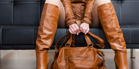 Brown, Product, Textile, Outerwear, Bag, Orange, Style, Leather, Amber, Tan,