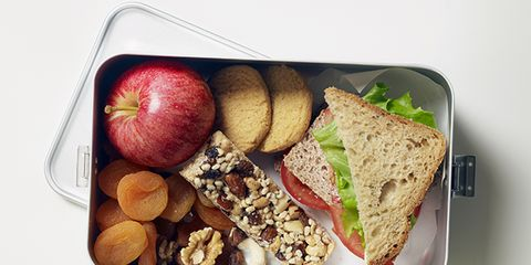 what fitness instructors pack for lunch