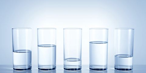 know exactly how much water to drink after a workout
