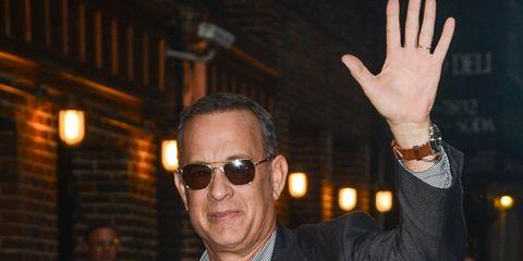 Tom Hanks at David Letterman Show