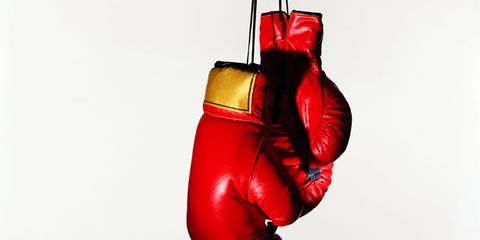 Boxing glove, Red, Boxing equipment, Boxing, Carmine, Striking combat sports, Contact sport, Coquelicot, Still life photography, Combat sport,