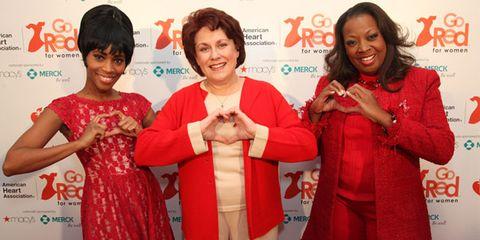 Valisia Le Kae, Judy Kaye and Star Jones