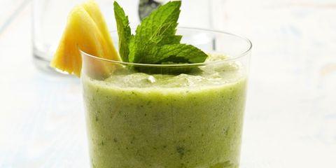 Green, Food, Vegetable juice, Drink, Health shake, Juice, Ingredient, Liquid, Tableware, Smoothie,