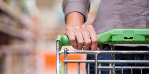 Wrist, Shopping cart, Bracelet, Service, Steel,