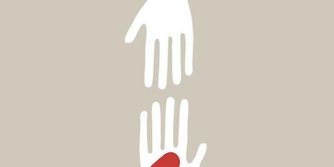 Finger, Carmine, Gesture, Thumb, Compact fluorescent lamp, Coquelicot, Graphics, Symbol, Light bulb,