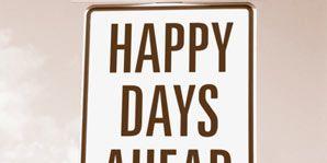 Optimism-happy sign