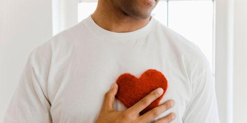 Finger, Sleeve, Shoulder, Joint, T-shirt, Organ, Carmine, Neck, Muscle, Heart,