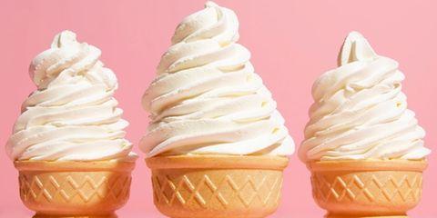 Food, Dessert, Ingredient, Cuisine, Dairy, Sweetness, Ice cream cone, Frozen dessert, Ice cream, Snack,