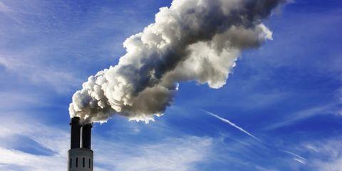 Blue, Sky, Daytime, Cloud, Atmosphere, Cumulus, Smoke, Pollution, Gas, Meteorological phenomenon,