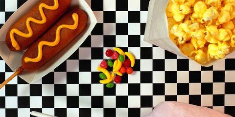 Yellow, Food, Orange, Cuisine, Recipe, Junk food, Snack, Popcorn, Vegetarian food, Fast food,