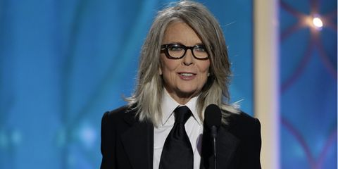Diane Keaton at the 2014 Golden Globes
