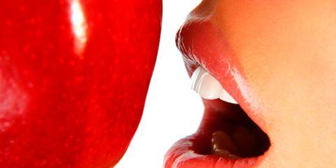 Lip, Cheek, Skin, Red, Tooth, Jaw, Organ, Carmine, Tongue, Close-up,