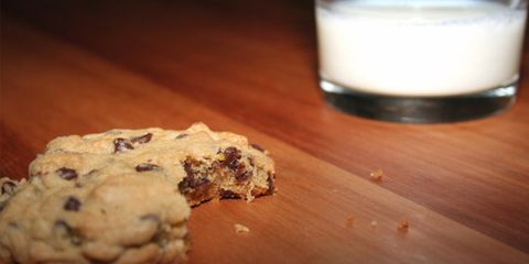 lack of sleep and weight gain; cookies and milk