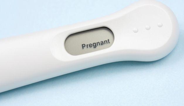 pregnancy test positive picture